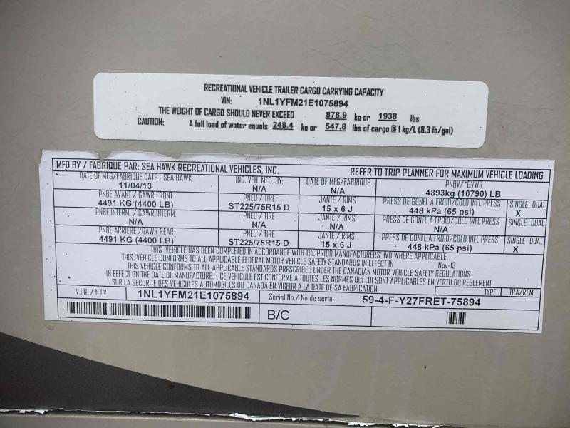 YELL CANYON TRAIL 2014 price $21,400