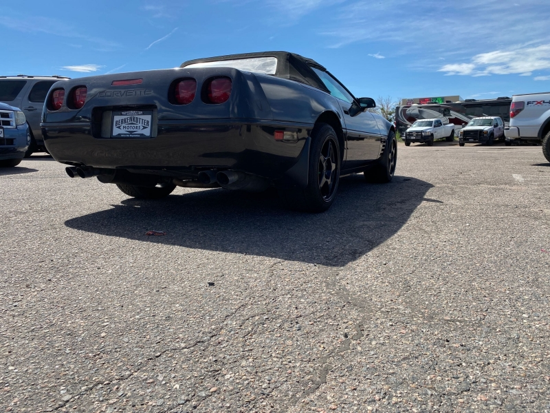 Chevrolet Corvette 1991 price $8,688