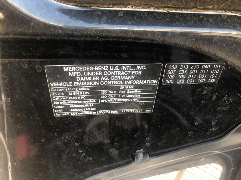 Mercedes-Benz M-Class 2010 price $14,995