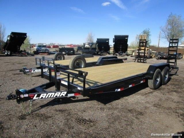 2017 Lamar 20 39 Equipment Hauler W Dovetail Inventory