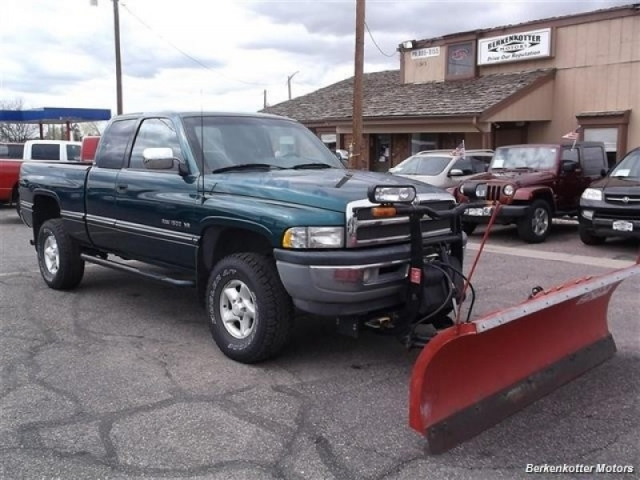 1997 Dodge Ram 1500 St Extended Cab W Plow Inventory