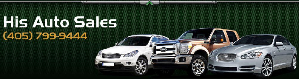 His Auto Sales. (405) 799-9444