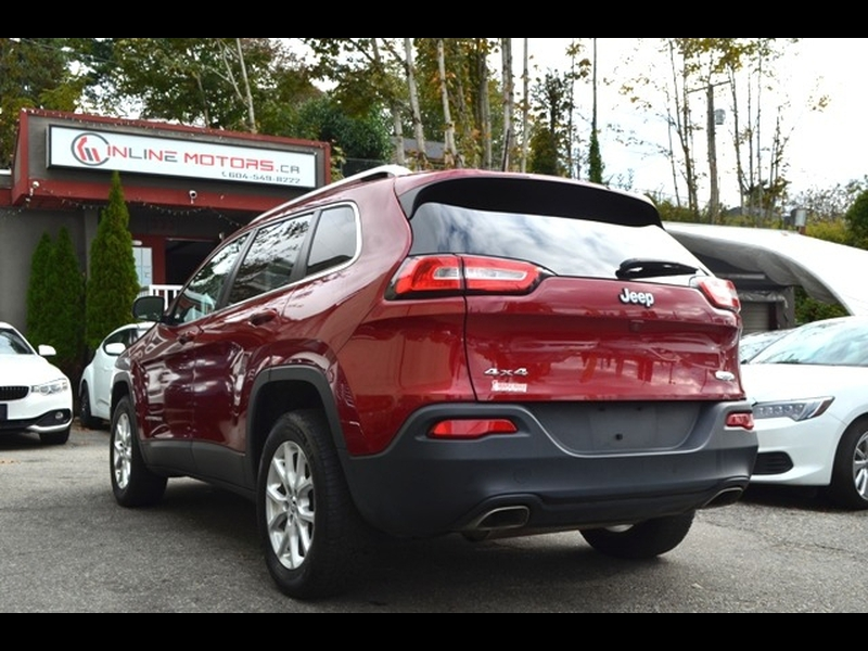 Jeep Cherokee 2016 price $13,990