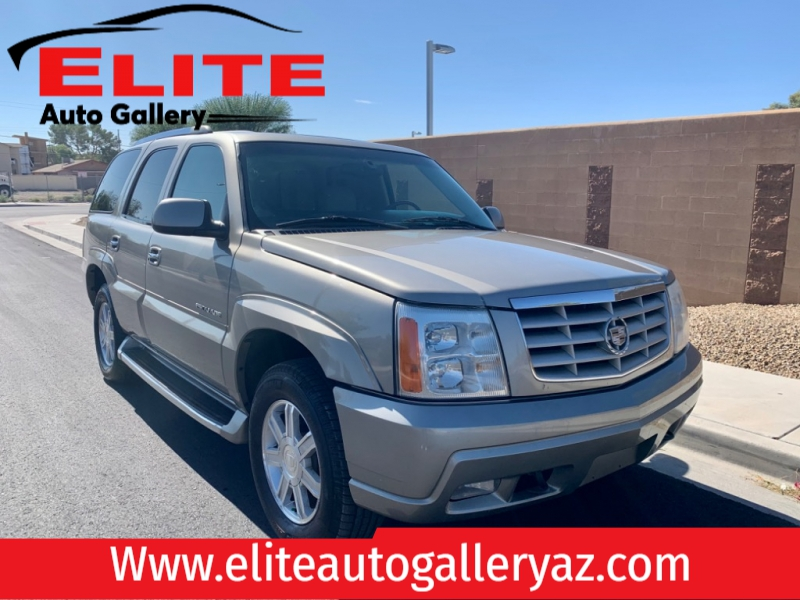 Cadillac Escalade 2002 price $6,500