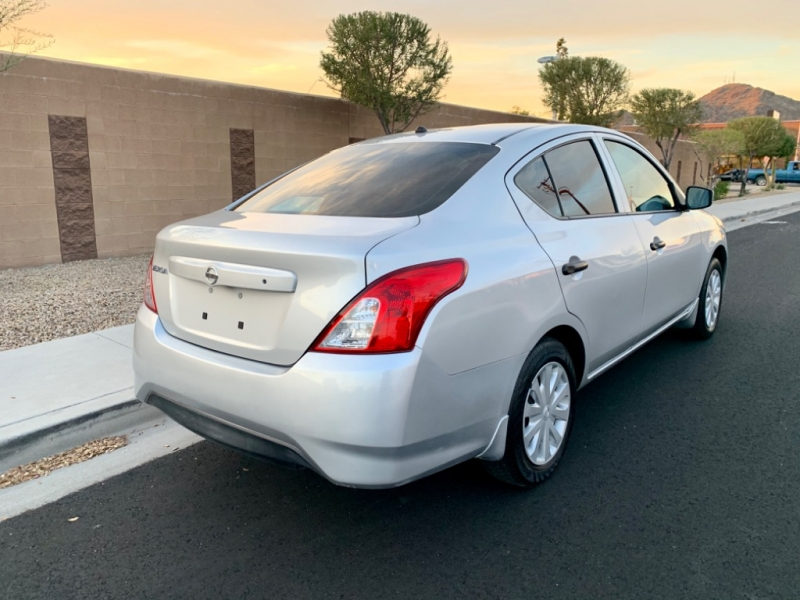 Nissan Versa 2016 price $6,500