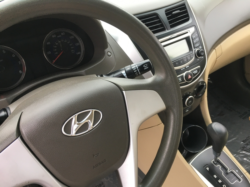 Hyundai Accent 2013 price $5,100