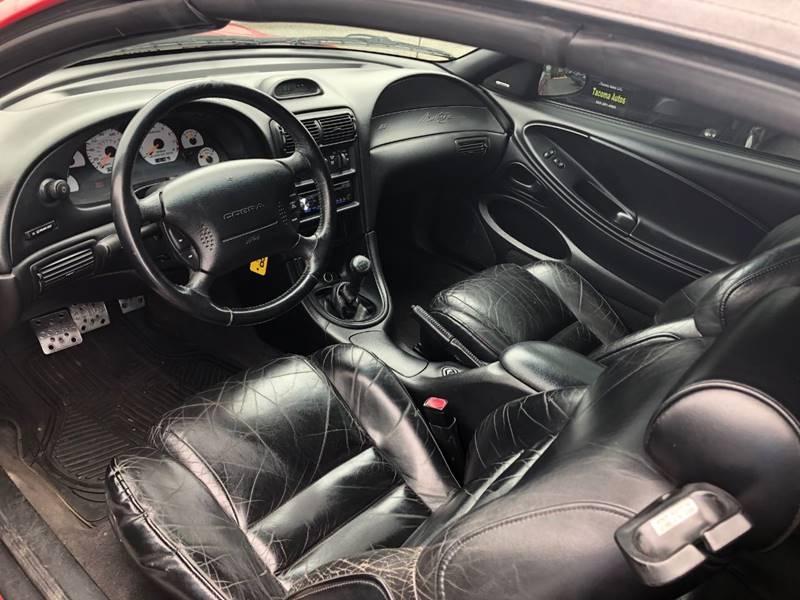 Ford Mustang SVT Cobra 1997 price $7,590