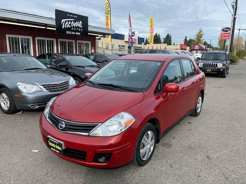 Nissan Versa 2010 price $4,990