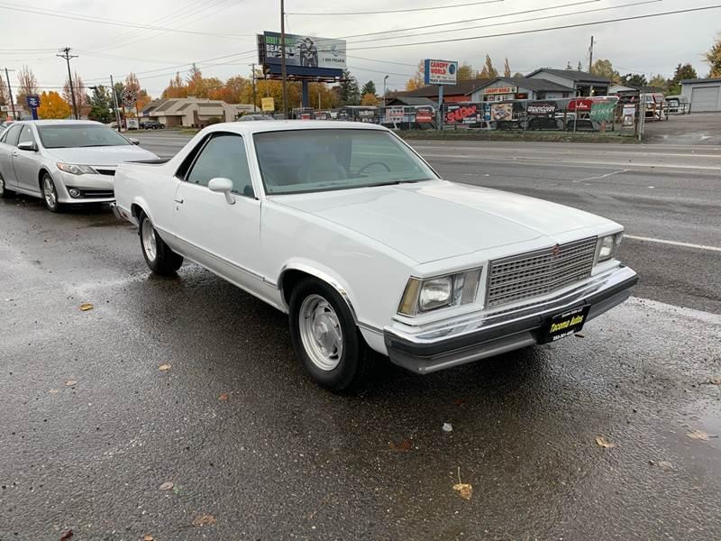 Chevrolet El Camino 1978 price $6,990