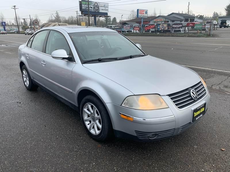 Volkswagen Passat 2004 price $2,499