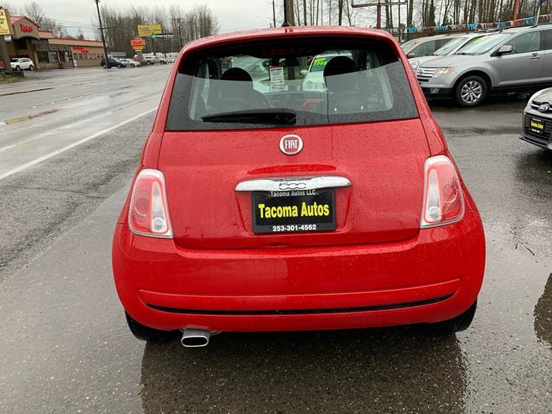 FIAT 500 2015 price $6,499