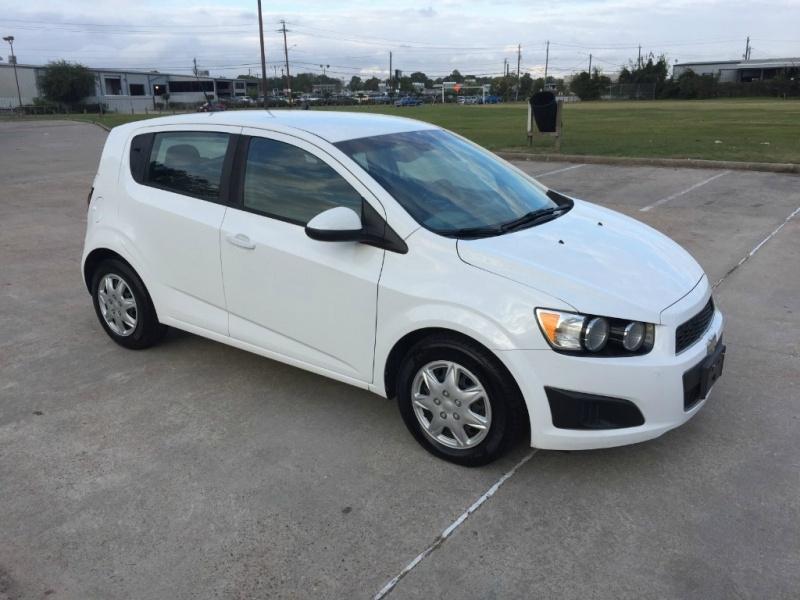 Chevrolet Sonic 2013 price $4,700