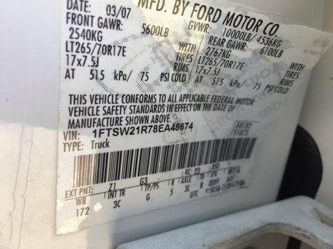 Ford Super Duty F-250 SRW 2008 price $10,000