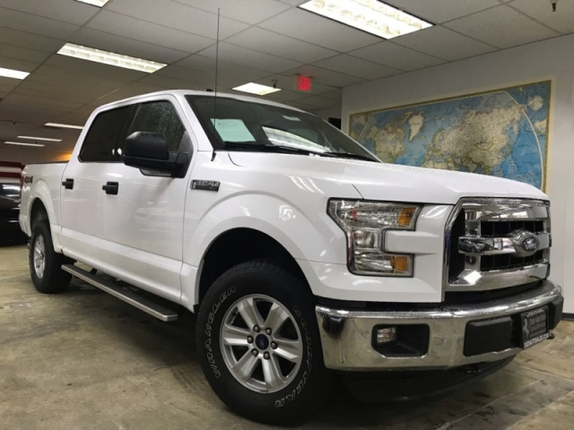 2016 Ford F-150 SuperCrew Cab XLT 4WD