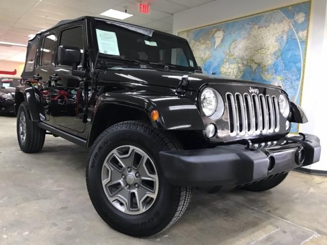 2016 Jeep Wrangler Unlimited Sahara 4WD