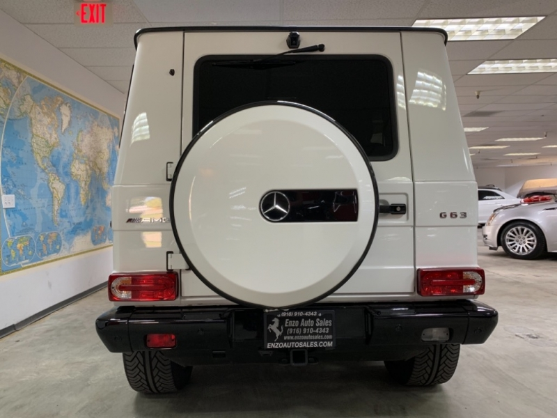 Mercedes-Benz G 63 AMG 4MATIC 2017 price $128,000