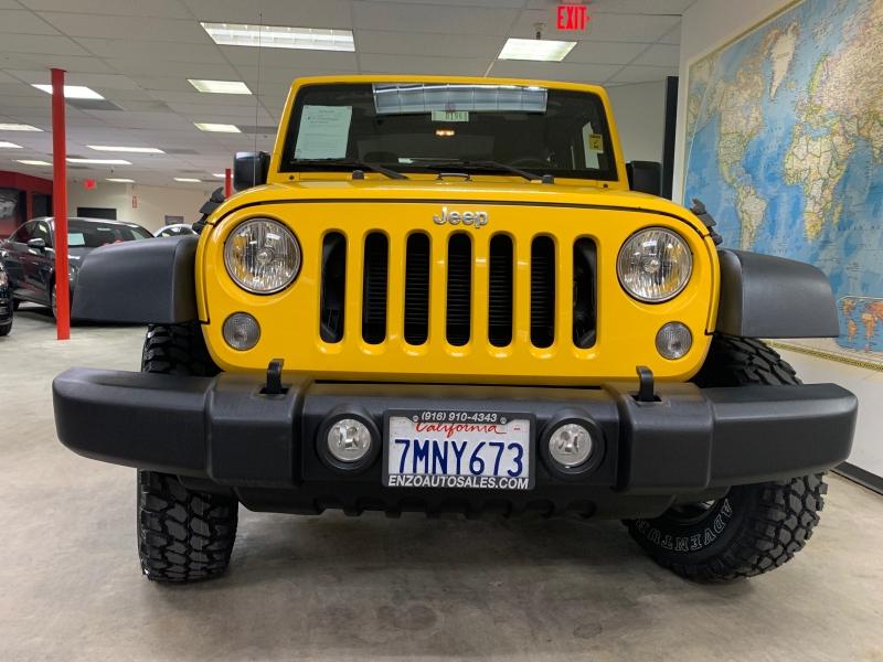 Jeep Wrangler Sport 4WD 2015 price $21,800