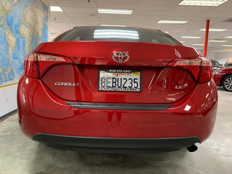 Toyota Corolla LE 2018 price $15,500