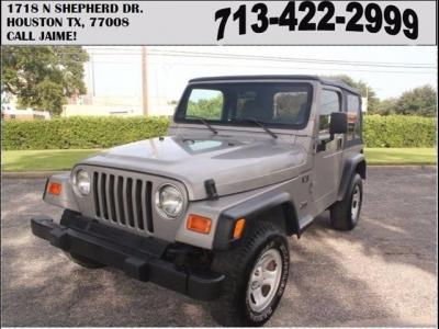 Jeep Wrangler X 2002