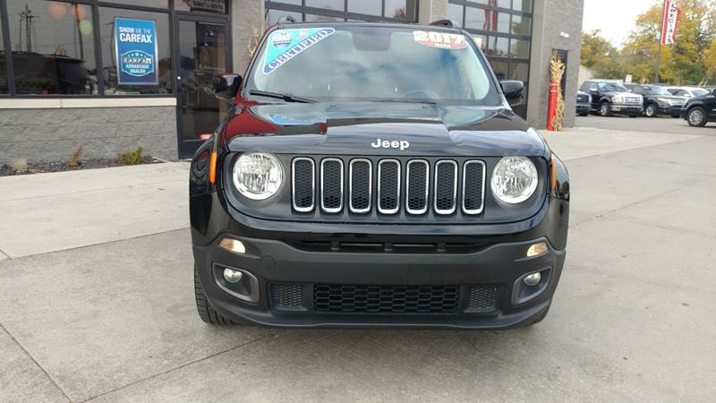 Jeep Renegade 2017 price $16,950