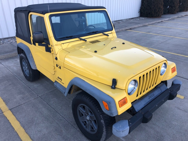 JEEP WRANGLER 2004 price $9,200