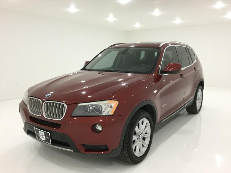 2011 bmw x3 xdrive28i 69 688 miles red suv a used. Black Bedroom Furniture Sets. Home Design Ideas