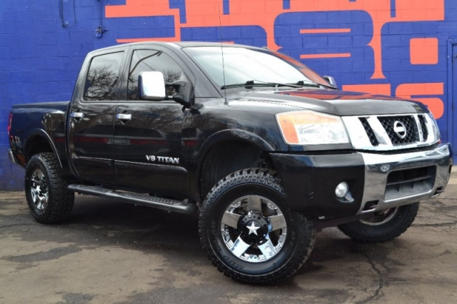 2010 Nissan Titan 4x4 Crew Cab Lifted Inventory 5280 Imports Inc