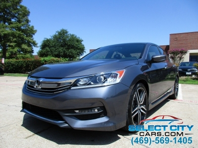 2017 Honda Accord Sport,Alloy Wheels (Carfax Certified One Owner)