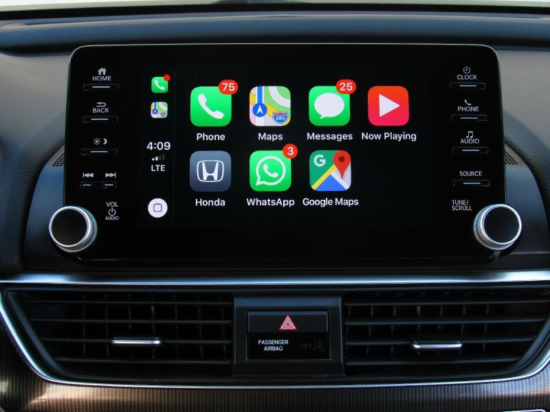 Honda Accord Sport,Apple,Android Car-Play 2018 price $22,495