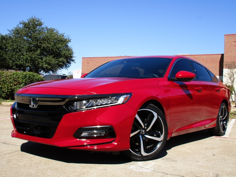Honda Accord Sport,Apple,Android Car-Play 2018 price $19,495