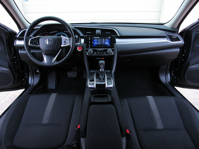 Honda Civic EX Apple,Android Car-Play 2018 price $17,495