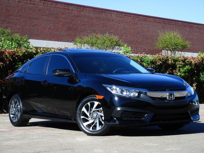 Honda Civic EX Apple,Android Car-Play 2018 price $16,995