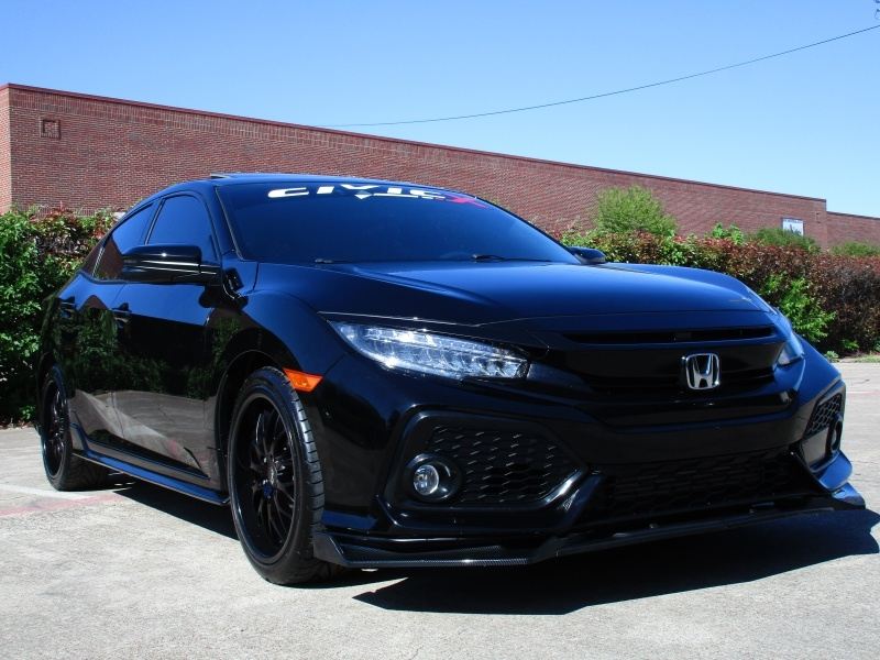 Honda Civic Hatchback Sport Touring Package 2018 price $21,495