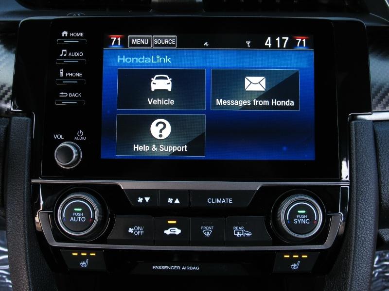 Honda Civic Si,Apple & Android Car-Play 2019 price $21,995
