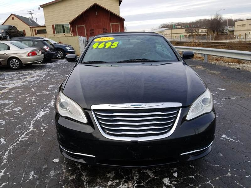 Chrysler 200 Convertible >> 2011 Chrysler 200 Convertible Touring 2dr Convertible
