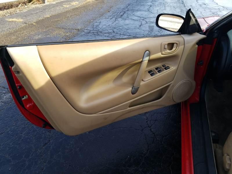 Mitsubishi Eclipse Spyder 2001 price $2,795