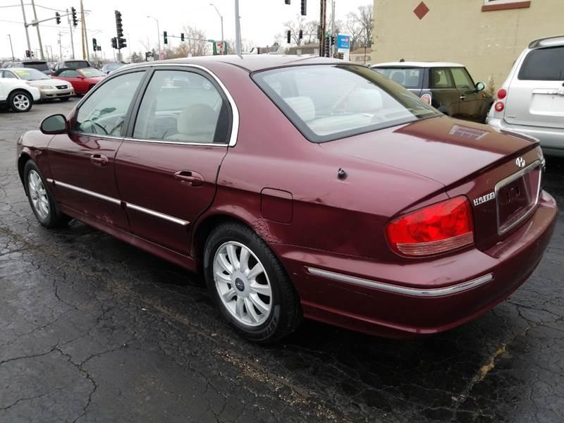 Hyundai Sonata 2003 price $2,495
