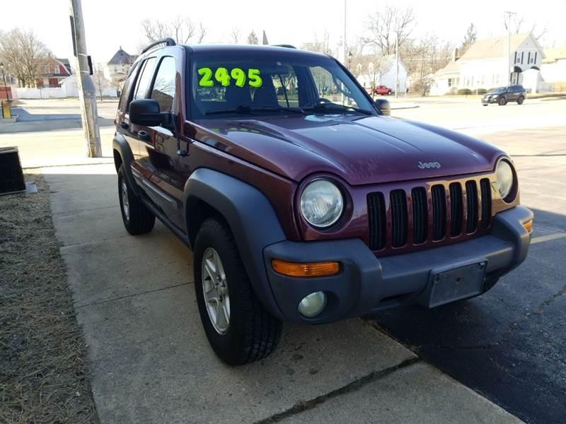 Jeep Liberty 2002 price $2,595