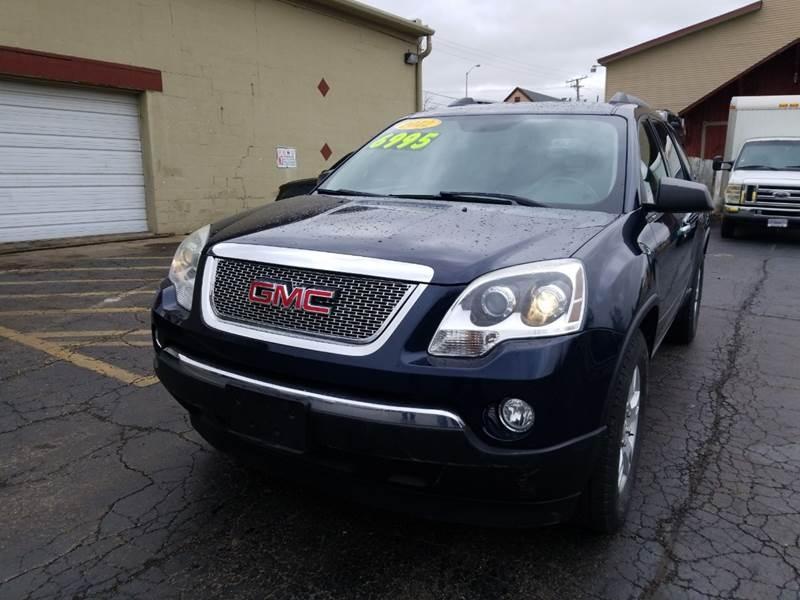 GMC Acadia 2012 price $6,995