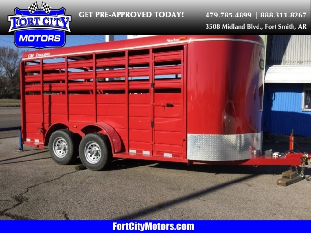 2017 CM Trailers 16 Foot Stock