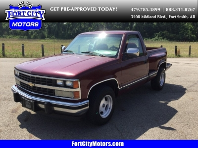 "1988 Chevrolet 1/2 Ton Pickups Fleetside 117.5"" WB"