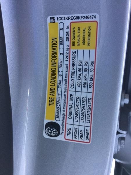 Chevrolet Silverado 2500HD 2019 price $38,995