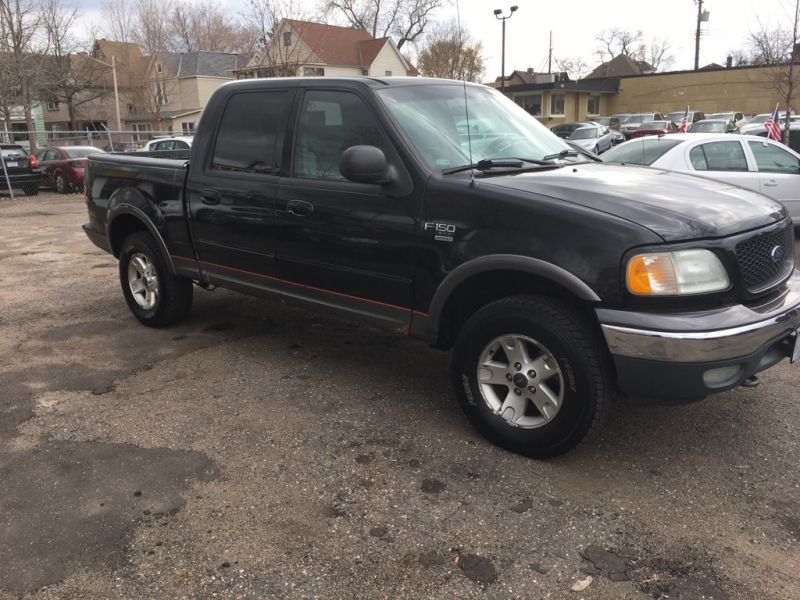 FORD F150 2002 price $3,999