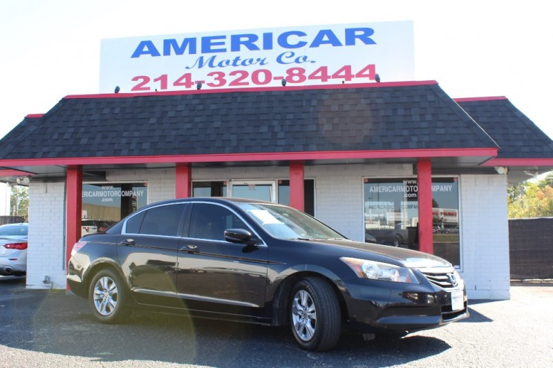 2012 honda accord sdn 4dr i4 auto se americar motor company buy here pay here used car. Black Bedroom Furniture Sets. Home Design Ideas