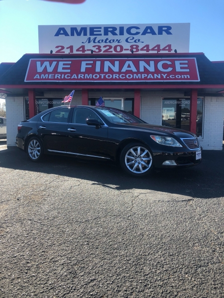2007 lexus ls 460 4dr sdn americar motor company buy here pay here used car dealers dallas. Black Bedroom Furniture Sets. Home Design Ideas