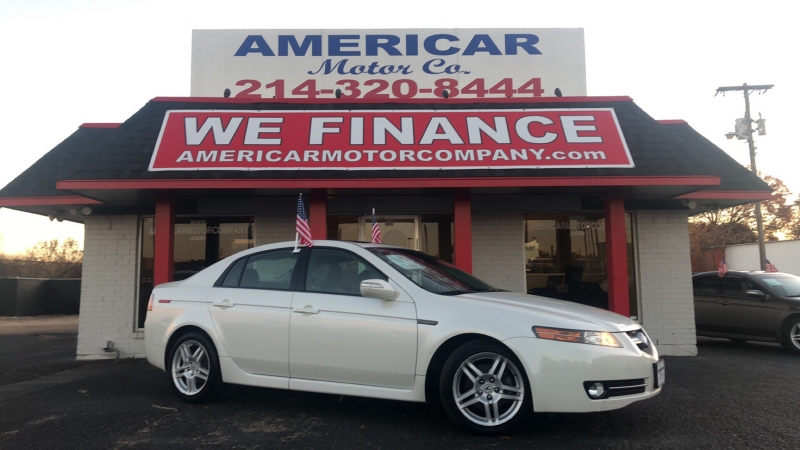 2008 acura tl 4dr sdn auto americar motor company buy here pay here used car dealers dallas. Black Bedroom Furniture Sets. Home Design Ideas