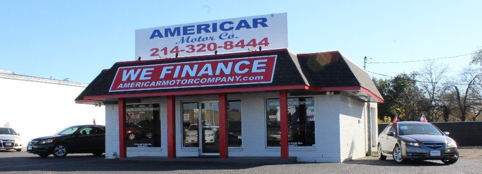 americar motor company buy here pay here used car dealers dallas tx auto dealership in dallas. Black Bedroom Furniture Sets. Home Design Ideas