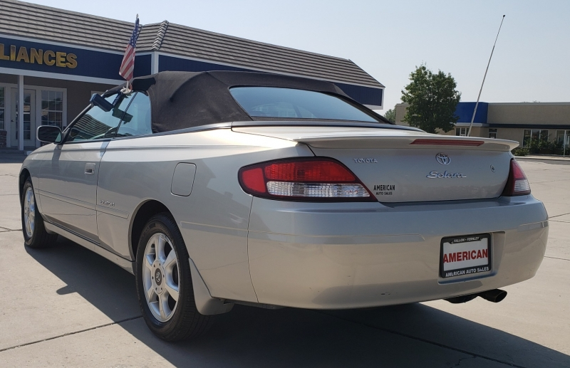 TOYOTA CAMRY SOLARA SE; SLE 2001 price CALL FOR PRICE