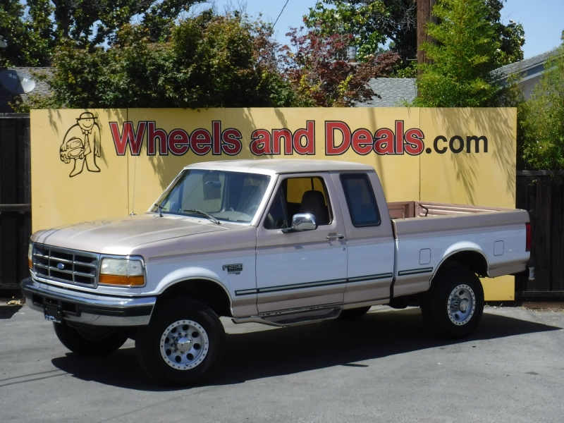 Ford F250 1996 price $8,850