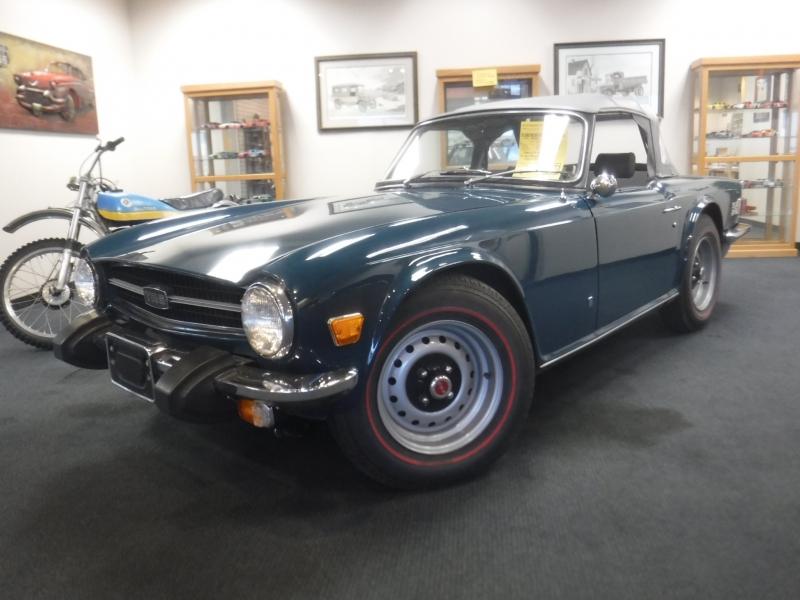 Triumph TR6 1974 price $13,250